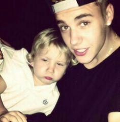 Justin and Jaxon <3