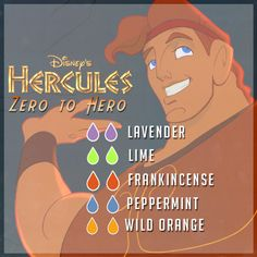 Zero to Hero - Essential Oil Blend Created a different graphic. I didn't like clicking twice to see the amounts needed. I do not claim this blend as my own but will link back to the original post. Essential Oil Diffuser Blends, Essential Oil Uses, Doterra Essential Oils, Young Living Essential Oils, Doterra Blends, Yl Oils, Healing Oils, Aromatherapy Oils, Aromatherapy Recipes