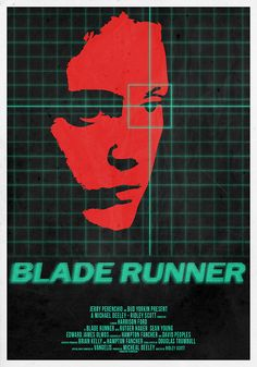 Blade Runner - fan-art Poster. Artist unknown.