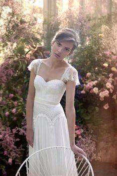 50 Vestidos de novia con mangas cortas perfectos: Los estilos ganadores para las más coquetas Image: 23