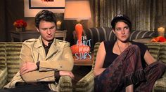 The Fault In Our Stars: Shailene Woodly & Ansel Elgort Official Movie Interview