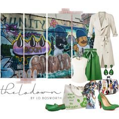 Be Green by shoppe23online on Polyvore featuring Bouchra Jarrar, eShakti, Christian Louboutin, Lauren Ralph Lauren, contestentry, FabulousFashionAccessories and thelodown