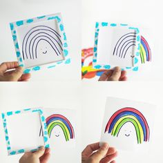 Rainbow Magic Trick Inspired by the new book My Color is Rainbow by Agnes Hsu of the creative website Hello, Wonderful