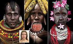 Woman Photoshopped in 'blackface' tribal pictures defends herself #DailyMail