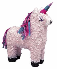 Unicorn Pinata Girls Birthday Party Game Decoration Pink 900g Sweets