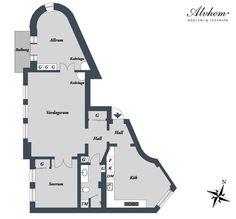 瑞典 26 坪小家庭公寓 - DECOmyplace