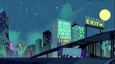 City_night Sleepwalking Paul rudish