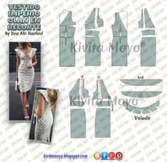 Formal Dress Patterns, Dress Making Patterns, Sewing Kids Clothes, Diy Clothes, Fashion Sewing, Diy Fashion, Clothing Patterns, Sewing Patterns, Corset Sewing Pattern
