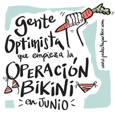 Gente que llega tarde a la #operacionbikini #ilustracion by @Pedrita Parker #pedritaparker #viñetas