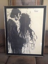 """Aldo Luongo Charcoal Drawing Print """" Lovers"""" - Google Search"""