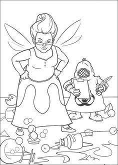 Disegni da colorare Shrek 33