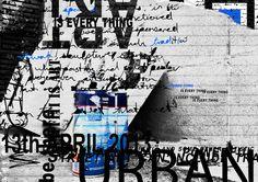deconstructivism #poster #david carson #grunge #graphic design