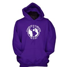 Cute hoodie gift for English teachers and college students - A World Without Adjectives Would Be.....LOL!  by UnicornTees on Etsy.