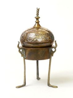 Copper And Brass Cylinder From INDIA Potpourie Candle