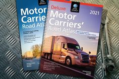 Presenting the 2021 Motor Carriers' Road Atlas! The new editions feature updated maps, restricted paths, low clearance data, weigh station locations, and a whole lot more! Canada States, Road Construction, State Police, The Unit, Trucks, Uber, Paths, Pathways, Track