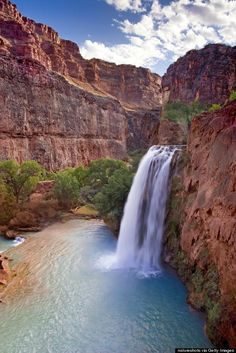 One thing you need to do in every U.S. state. Like spend the night at the bottom of the Grand Canyon so you can see Havasu Falls.