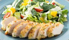 Recette : Poitrines de poulet à la panure panko.