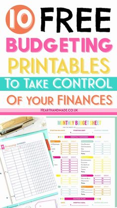 20 Fabulous and Totally Free Planner Printables Hand lettering/Bullet Journal Printable Budget Sheets, Monthly Budget Sheet, Printable Day Planner, Grocery List Printable, Budget Binder, Free Planner, Monthly Budget Printable, Free Printables, Budgeting Finances
