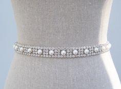 Beading belt for wedding dress