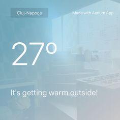 Aerium Weather App http://bit.ly/iOSAerium