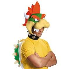 I found great Halloween Costumes on BuyCostumes.com. Super Mario Bros: Bowser…