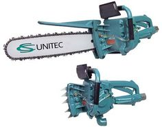 An underwater chainsaw