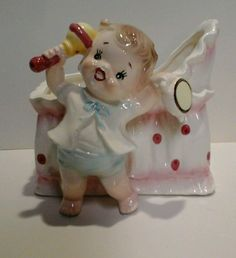 Vintage napco Japan baby girl figurine