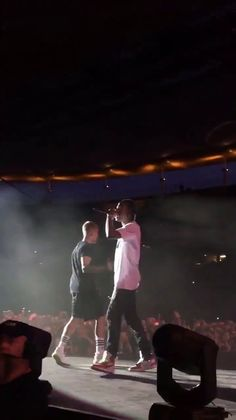June 25: Another video of Justin and Travis Scott performing 'No Sense' at the Wireless Festival in Frankfurt, Germany.