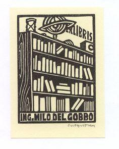 Ex Libris   bookplates Milo del Gobbo