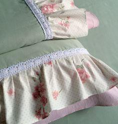 Jogo de lençol para cama de casal tamanho queen 100% algodão percal 200 fios.