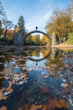 How to See Rakotzbrücke - Devil's Bridge in Germany
