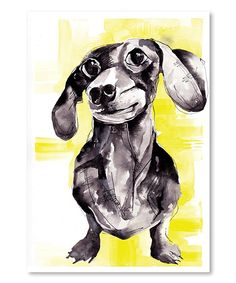 This Dutch Hound Wall Art by Americanflat is perfect! #zulilyfinds