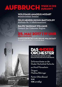 25. Mai 2017, 19.00 Uhr Emmauskirche Karlsruhe-Waldstadt