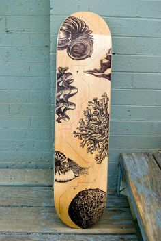 2012 Bordo Bello Skateboard Art by Sean Serafini, via Behance