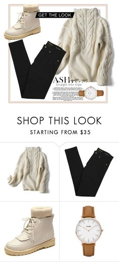 """""""Bez naslova #125"""" by alma202 ❤ liked on Polyvore featuring Yves Saint Laurent and CLUSE"""