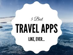 Travel apps can help solve every travel related problem. We have a list of #Apps that can make your #travel easier.