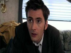 The Face of Boe is having trouble finding work, oh David Tennet.  I love you!