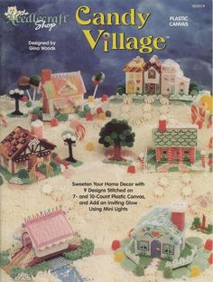 Christmas candy village