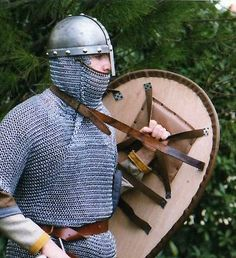 Norman with kite shield