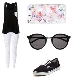 """""""Untitled #146"""" by directioner1706 ❤ liked on Polyvore featuring Solid & Striped, Vans, Casetify and Yves Saint Laurent"""