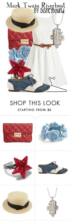 """""""Mark Twain Riverboat"""" by leslieakay ❤ liked on Polyvore featuring MICHAEL Michael Kors, Disney, Restricted, PDB and disney"""