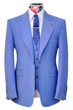 The Artlett Sky Blue - William Hunt Savile Row - 1