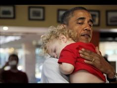 President Obama has such a way with children, you might even call him the baby whisperer! The hottest celebrity gossip, entertainment news, and pop culture v...