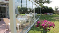 #przesłony#szklane#pergola#tarasowa