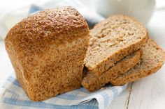 This recipe is a 100% wholemeal bread you can try at home.