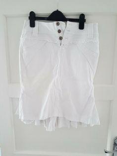 509b0013c5695 Jane Norman Size UK Women 8 White Skirt #fashion #clothing #shoes  #accessories