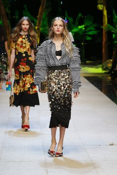 Discover Videos and Pictures of Dolce & Gabbana Summer 2017 Womenswear Fashion Show on Dolcegabbana.com.