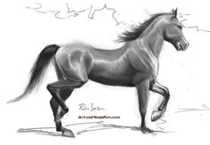 Learn to make cool pencil horse drawings with these FREE step by step tutorials