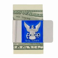 """Checkout our #LicensedGear products FREE SHIPPING + 10% OFF Coupon Code """"Official"""" Large Navy Money Clip - Officially licensed Military, Patriotic & Firefighter product Stainless steel money clip Strong clip securely holds your cash Makes a great gift for an avid sports fan Money ClipsNavy emblem - Price: $16.00. Buy now at https://officiallylicensedgear.com/large-navy-money-clip-mcl17"""