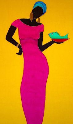 Amara Caribbean Artwork ~ Marjolein Scott